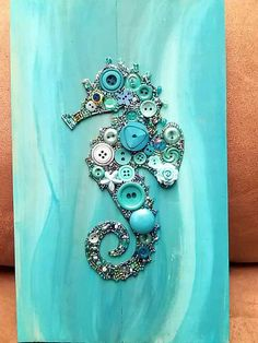 ✔ 47 impossibly art easy diy crafts to make and sell 19 ~ Ideas for House Renovations Seashell Crafts, Beach Crafts, Ocean Crafts, Crafts To Make And Sell, Easy Diy Crafts, Sell Diy, Jewelry Crafts, Jewelry Art, Gemstone Brooch