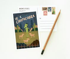 Illustrated Stationery by Quill and Fox via Oh So Beautiful Paper (3)