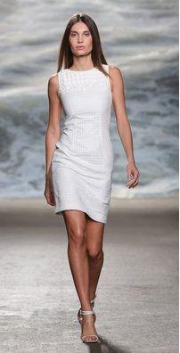 Sonya from Rolando Santana New Wardrobe, How To Feel Beautiful, Womens Fashion, 3d Fashion, Fashion Details, Short Dresses, Open Weave, White Dress, Feminine