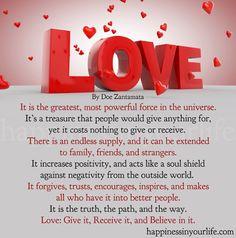 Love, By Doe Zantamata