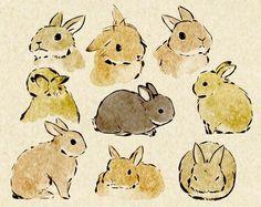 Resultado de imagen para watercolor animals tumblr
