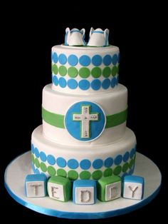 baptism By citygirlcakes on CakeCentral.com