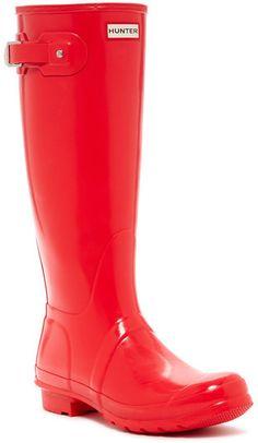 992b1a94aaf9 Hunter Glossy Waterproof Boot Hunter Rain Boots