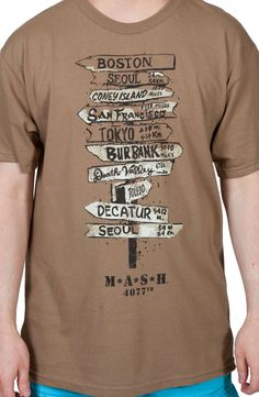 Signs MASH Shirt (WANT WANT WANT WANT WANT)