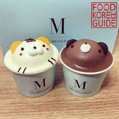 Teddy Bear Cake (테디베어케이크) from The Menagerie (메나쥬리) in Seoul. More information can be found in the No.1 food guide in Korea, Food Korea Guide.