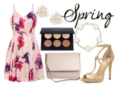 """""""Spring Look"""" by mermaidfairy ❤ liked on Polyvore featuring MICHAEL Michael Kors, Givenchy and Cara"""