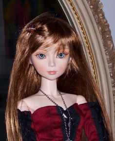 Free Face Make UP+Free Eyes 1//4 BJD Doll SD Doll Girl Craft Classic Rosa