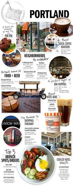 So many great things to see, do and taste in Portland!