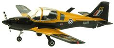 Aviation 72 1:72 Scottish Aviation Bulldog Diecast Model Airplane - AV-72-25-001 This Scottish Aviation Bulldog SA120-121 XX693 (2006) Diecast Model Airplane features working propeller. It is made by Aviation 72 and is 1:72 scale (approx. 14cm / 5.5in wingspan). The Bulldog was designed in the late 1960s by the Beagle Company, producers of the Beagle B.121 Pup trainers, it was developed a potential replacement for the RAF's fleet of obsolete de Havilland Chipmunks. The design, the B.125 B...