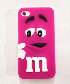 1b24e13b16b Carcasas m&m color rosado iphone 4-4s 6.500 #instachile #chileventas # carcasas #