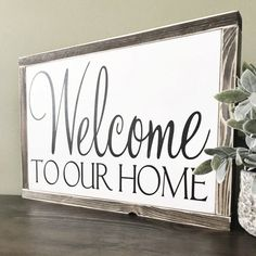 Wood signs for home, rustic wood signs, home signs, wooden signs, entryway Wood Signs For Home, Rustic Wood Signs, Home Signs, Wooden Signs, Home Wall Decor, Diy Wall Art, Diy Home Decor, Wall Décor, Housewarming Decorations