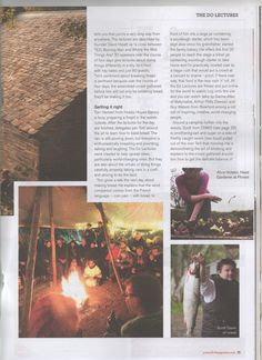 More pages from Fork Magazine featuring fforest & Scott from cnwd.