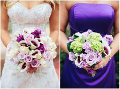 Dani Leigh Photography - purple flower bouquet