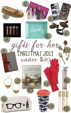 Hint Hint to Mitchell ;) gift guide: Christmas gifts for her on Classic With A Twist Blog!