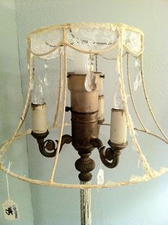 9 Marvelous Tips: Antique Lamp Shades Diy pendant lamp shades modern.Unique Lamp Shades World Market rustic lamp shades woods. Shabby Chic Lighting, Shabby Chic Lamp Shades, Rustic Lamp Shades, Lamp Shade Frame, Green Lamp Shade, Hanging Lamp Shade, Square Lamp Shades, Small Lamp Shades, Tom Dixon
