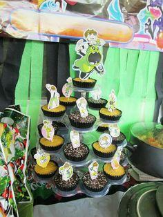 Ben10 Cupcakes