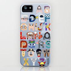 The Pixar alphabet iPhone cover