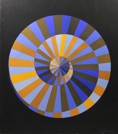 View Emblème des Jeux Olympiques By Victor Vasarely; Access more artwork lots and estimated & realized auction prices on MutualArt. Victor Vasarely, Op Art, Städel Museum, Otl Aicher, Illusion Art, Art Series, Art Moderne, Creative Logo, French Artists