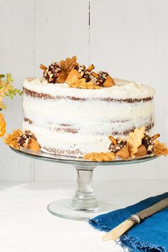 Spice Layer Cake  - CountryLiving.com