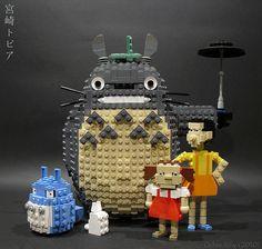Hayao Miyazaki Legos