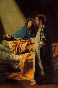 Francisco de Goya: El sueño de San José, 1771. Museo de Zaragoza.