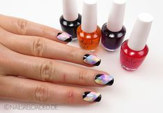 nails reloaded by naileni: [Nageldesign / Nailart] Sheer Tints and Tape
