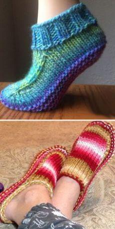 Ladies knitted slipper boots free pattern that you can .- Damen gestrickte Slipper Stiefel kostenlose Muster, die Sie lieben Ladies Knitted Slipper Boots Free Patterns That You Love - Knit Slippers Free Pattern, Knitted Slippers, Mittens Pattern, Beanie Pattern, Knitted Bags, Crochet Slipper Boots, Crocheted Hats, Knitting Patterns Free, Crochet Patterns