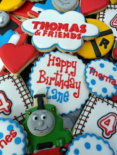 Thomas and Friends Cookies