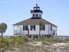 Gasparilla Lighthouse in Boca Grande Florida. This ones for you gramps. happy birthday.  my grandparents lived on this island.