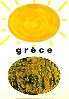 Rene Wanner's Poster Page / Freddie Carabott, Michalis & Agni Katzourakis from Greece Greece Tourism, Greece Travel, Tourism Poster, Historical Monuments, Parthenon, Commercial Art, Vintage Travel Posters, Ancient Civilizations, Vintage Advertisements