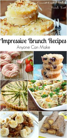 15 Impressive Brunch Recipes Anyone Can Make from @willcook4smiles