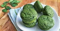 Sweet Spinach Muffin