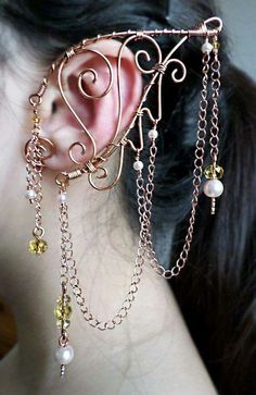 Elven ear jewelry