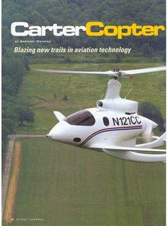 A modern autogyro (gyrocopter), a pusher-type.
