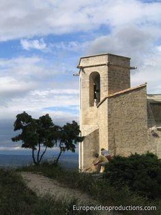 Oppède-le-vieux Church in Provence-Alpes-Côte d'Azur in France
