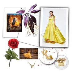 """""""Beauty and the Beast"""" by bloomy53 on Polyvore featuring Epoque, Disney, Charlotte Olympia, Tarik Ediz, contest, BeautyandtheBeast and contestentry"""
