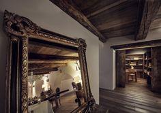 Hotel Chesa Stuva Colani - Madulain (CH) www.hotelchesacolani.com Colani, Oversized Mirror, Furniture, Home Decor, Decoration Home, Room Decor, Home Furnishings, Home Interior Design, Home Decoration
