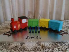 3D Train Cake(30 serves) $200