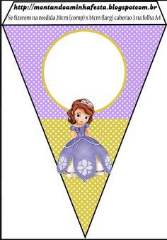 Banderin 06 Princesa Sofia