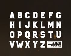 ROYALS font // Free Font on Behance