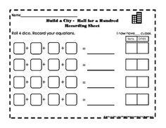 Place Value - Build a City