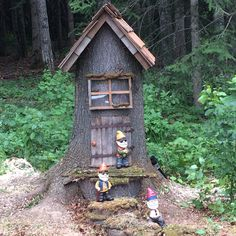 Our gnome house!