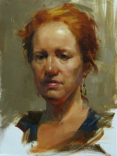 AAU Portrait Painting 3, painting by artist Qiang Huang