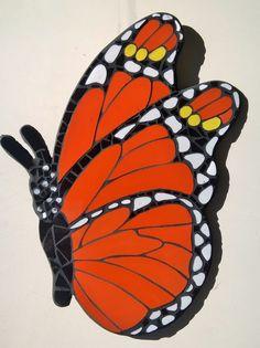 Tutor mariposa mosaico