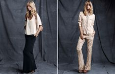love the simplicity of these looks by Piamita