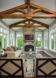 Browse pictures of sunroom layouts and decoration. Discover ideas for your 4 periods space enhancement, including motivation for sunroom decorating and layouts. Indoor Window Boxes, Window Ideas, Sunroom Windows, Sunroom Decorating, Sunroom Ideas, Porch Ideas, Decorating Tips, Interior Decorating, Sunroom Addition