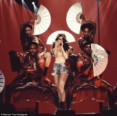 Selena Gomez kicks off Revival Tour in sparkly catsuit Hitting the road! Gomez will next take her globetrotting world tour. Selena Gomez Tour, Selena Gomez Concert, Selena Gomez Outfits, Catsuit, Bff, Texas, Marie Gomez, Stage Outfits, In Hollywood