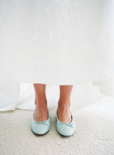 Mint flats. J. Crew. Photography: Jose Villa Photography - josevillaphoto.com