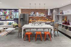 Cores e estampas em 25 ambientes - Casa Vogue   Decoração