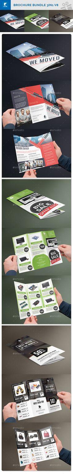 Supermarket Products Catalog Brochure Template  Brochure Template